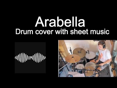 Arctic Monkeys Arabella - Drum Cover With Sheet Music Tab #8