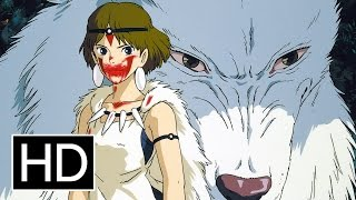 Princess Mononoke - Official Tra HD