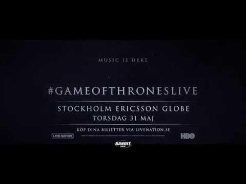 GAME OF THRONES - 31 MAJ 2018 - GLOBEN, STOCKHOLM