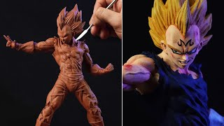 Sculpting MAJIN VEGETA Super Saiyajin | Dragon Ball Z
