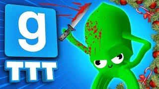 THE SQUID HAS A KNIFE!!! | Gmod TTT