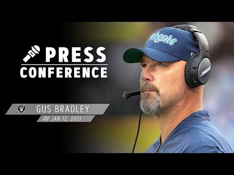 Gus Bradley Introductory Presser - 1.12.21 | Las Vegas Raiders