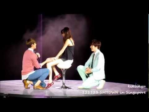 121123 SMTOWN Singapore - Just The Way You Are (Changmin & Kyuhyun)