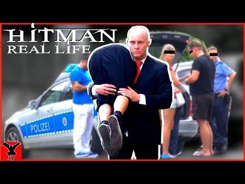 HITMAN in Real Life (Public Pranks)