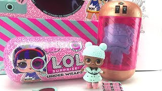 LOL Surprise Under wraps Big sisters|Unboxing jelly layer blindbags| Eye Spy Big City BB