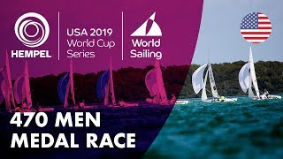 470 Men Medal Race | Hempel World Cup Series: Miami, USA