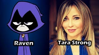Characters and Voice Actors - Teen Titans GO! To The Movies