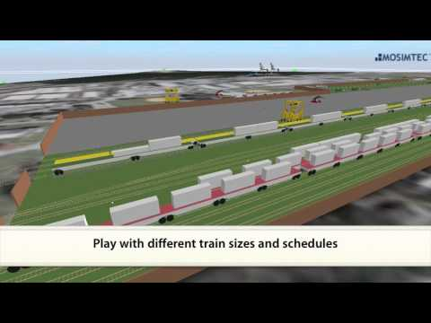 Intermodal Container Transfer Facility by MOSIMTEC
