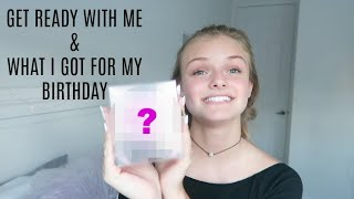 Get Ready With Me & What I Got for My Birthday Vlog ~ Jacy and Kacy