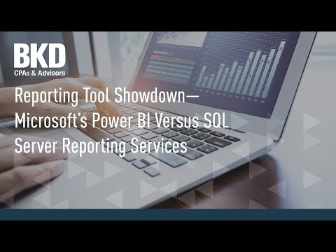 Reporting Tool Showdown - Microsoft's Power BI Versus SQL Server Reporting Services