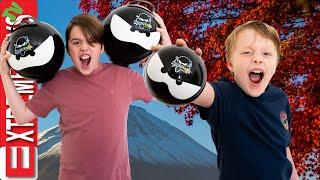 Ninja Kidz and Sneak Attack Squad Remastered! Ethan And Cole Play with Ninja Kidz Toys!