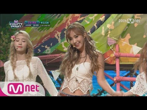 Girls′ Generation(소녀시대) - 'PARTY'컴백! ′ M COUNTDOWN 150716 COMEBACK Stage Ep.433