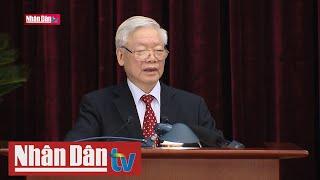 Tổng Bí thư, Chủ tịch nước Nguyễn Phú Trọng phát biểu tại Hội nghị Trung ương 14