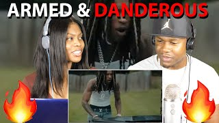 King Von - Armed & Dangerous (Official Video) REACTION