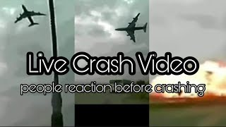 Eithopian Boeing 737 Crash Live Video - Reason and People Reaction Before Crashing