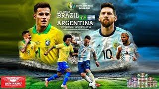 [TRỰC TIẾP] Brazil vs Argentina (7h30 ngày 3/7). Bán kết Copa America 2019. Trực tiếp K+PM, FPT Play