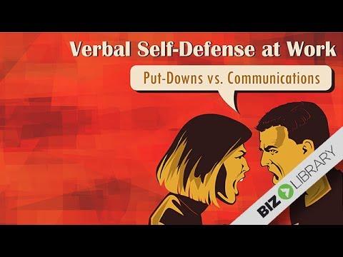 Put Downs vs Communications