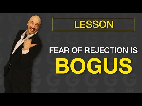 Fear of Rejection is Bogus! | Jeffrey Gitomer | Sales Tools - YouTube