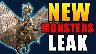 NEW LEAK!! NEW MONSTERS Coming to MONSTER HUNTER WORLD + EXPANSION [MONSTER HUNTER WORLD DISCUSSION]