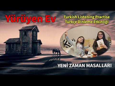 Yürüyen Ev - Turkish Listening Practise - Türkçe Dinleme Etkinliği
