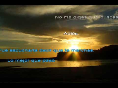 Cristian Castro - No me digas (Balada) Karaoke