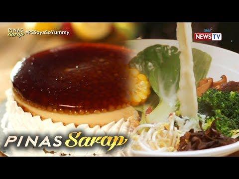 Pinas Sarap: Iba't ibang panghimagas na gawa sa soya milk
