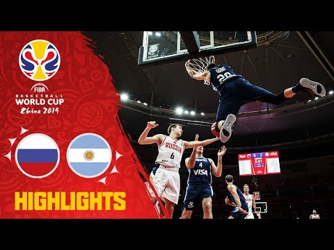 Russia v Argentina - Highlights - FIBA Basketball World Cup 2019