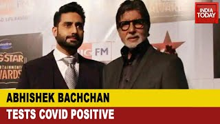 After Amitabh, Abhishek Bachchan too tests positive for Co..