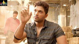 Allu Arjun Action Scenes Back to Back   Iddarammayilatho   Telugu Action Scenes   Sri Balaji Video
