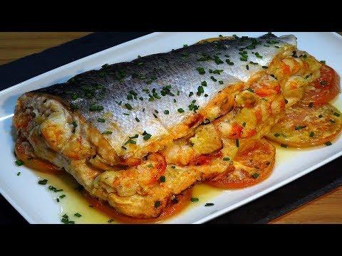 Receta Salmon Relleno De Marisco Especial Para Navidad Recetas De - Comida-para-navidad-recetas