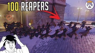 100+ BOTS GLITCH!! OVERWATCH ► FUNNIES, FAILS & CRAZY MOMENTS #96