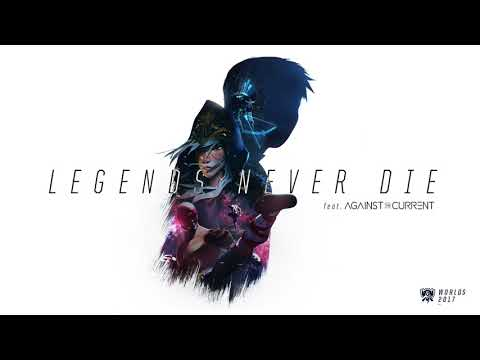 Legends Never Die (ft. Against The Current) [OFFICIAL AUDIO] | Worlds 2017 - League of Legends