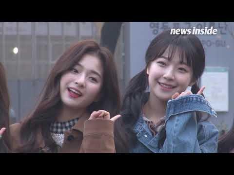 [SSTV]  씨엘씨·프로미스9, 오늘도 '예쁨' 장착한 미소 천사들 (뮤직뱅크)