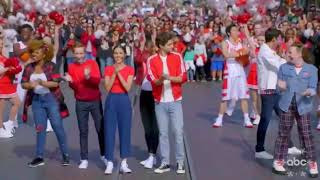 Disney Christmas Day Parade 2019 - High School Musical: The Musical The Series
