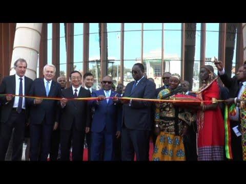 Senegalese president inaugurates Black Civilisations museum