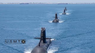 In 2010, The Navy Surfaced 3 Nuclear-Submarines To Scare China
