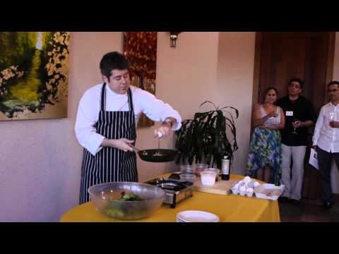 (HD) Bouchaine Chef Series 2013 with Chef Kevin Garcia