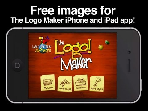 Free images to use with the logo maker iphone app by for Iphone app logo template