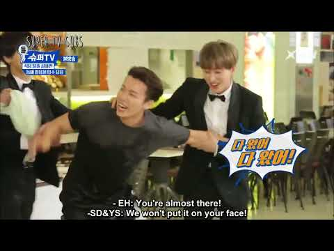 [ENG SUB] SUPER JUNIOR Donghae on Ice Water!