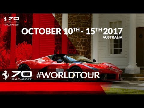 70 Years Celebrations - Australia, October 10th-15th 2017