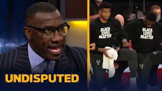 Skip & Shannon react to Bucks & NBA Boycott over the shooting of Jacob Blake   NBA   UNDISPUTED