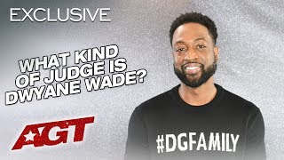 What Kind Of Judge Is Dwyane Wade?! - America's Got Talent 2019