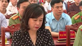 Bộ trưởng Bộ công an tiếp xúc cử tri xã Lãng Ngâm, Gia Bình