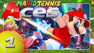 MARIO TENNIS ACES 🎾 #1: Die 5 Machtsteine des bösartigen Tennisschlägers Luzius