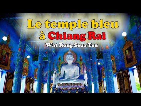 le temple bleu à chiang raï