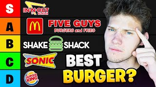 Who Makes The BEST Fast Food CHEESE BURGER?