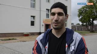 Kanter Almanya'da öğrencilerle buluştu