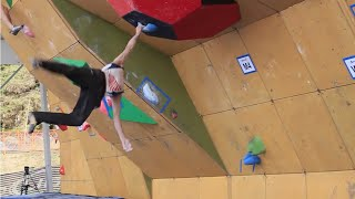 Daniel Woods Wins Bouldering World Cup