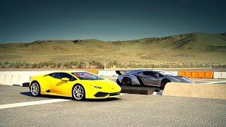 Lamborghini Veneno vs. Lamborghini Huracán Drag Race | Forza 6