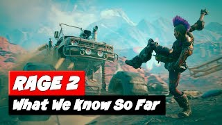 RAGE 2 e3 | Game Preview | What We Know So Far